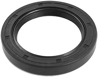 eDealMax 50x70x10mm goma Negro Metal Con resorte del eje TC del sello de aceite Junta