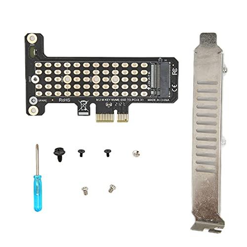 Tarjeta De Expansión M.2 NVME A PCIeX1 32Gbps Alta Velocidad De Transmisión Tarjeta Adaptadora PCIE 4.0 Accesorios De Computadora Soporte Interfaz PCIe X1 / X4 / X8 / X16(ph41)