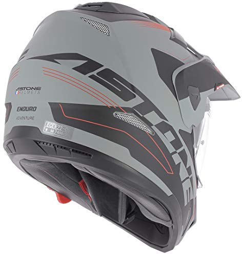 Astone Helmets tourer-advbrl Kopfhörer Tourer Adventure, Grau/Schwarz, L - 6