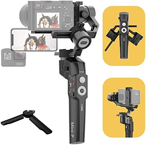 MOZA 3軸スタビライザー Mini-P スマホ 一眼レフ gopro適用 折りたたみ 横/縦撮影 Vlog Youtubeに適応 長時...