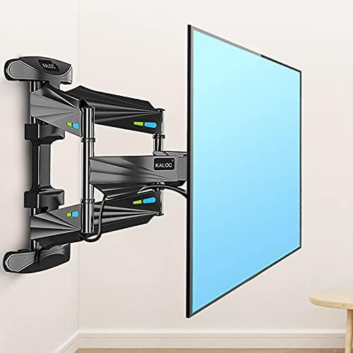 Soporte de Pared para TV, Soporte De TV para Pantallas, Soporte TV de Pared Articulado Inclinable y Giratorio, para televisores de Pantalla Plana OLED LCD LED de 32-70 Pulgadas