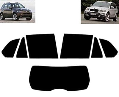 Film Solaire Prédécoupé Teinté pour-BMW X5 E70 5-Portes 2007-2012 Vitres Arrière & Lunette