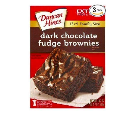 Brownie Mix, Dark Chocolate Fudge