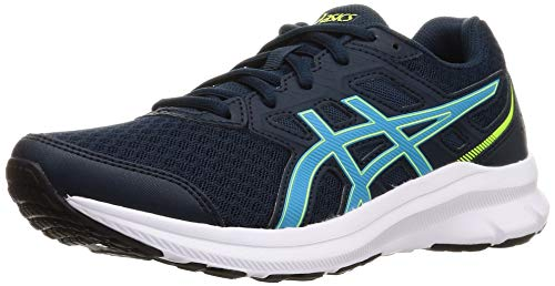 Asics Jolt 3, Road Running Shoe Hombre, French Blue/Digital Aqua, 42 EU