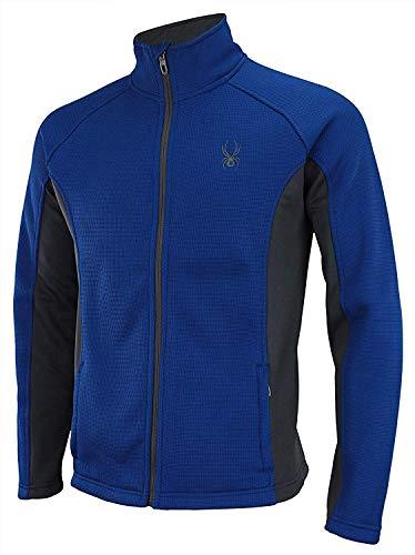 Spyder Men Raider Full Zip Sweater Limoges Size L