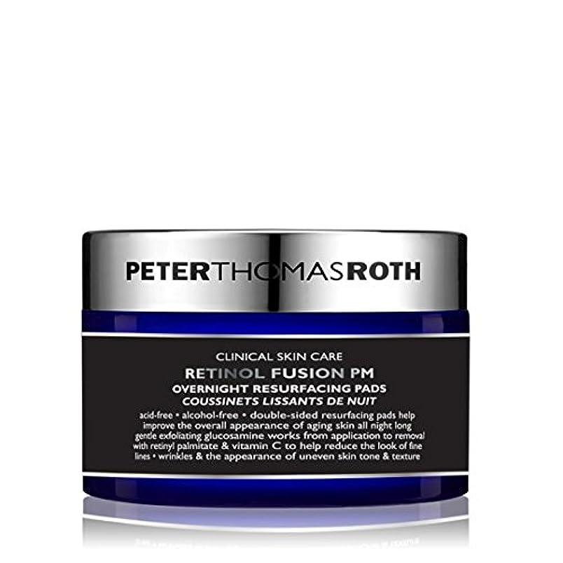 可決穿孔する通路PETER THOMAS ROTH - Retinol Fusion PM Overnight Resurfacing Pads [並行輸入品]