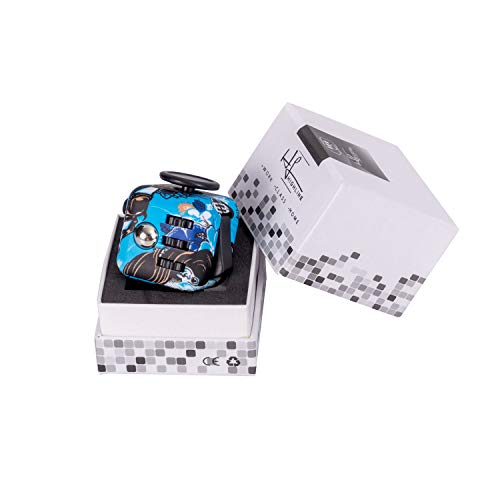 Highline cubo inquieto juguete para ADD y aliviar el estrés ,juguete sensorial inquieto para adultos y niños