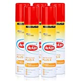Autan Protection Plus Multi - Spray de protección contra insectos (100 ml, protección contra mosquitos, mosquitos tigre, moscas y garrapatas, 5 unidades)