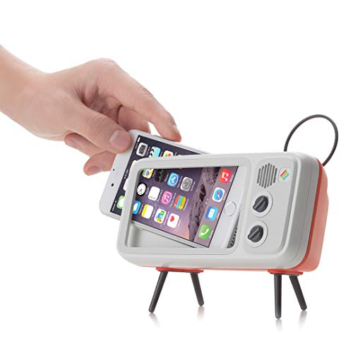 Retroduck Retro-Style Smart Phone Dock Compatible for iPhone 6+, 6s+, 7+, 8+