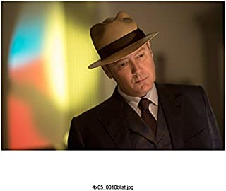 The Blacklist James Spader as Raymond Reddington Close Up Wearing Hat 8 x 10 inch Photo