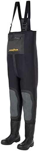GoodYear Outdoor - Waders de pêche Néoprène chaussant PU - LE COMBI NEO PU