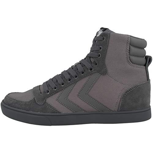 hummel Slimmer Stadil Tonal High, Sneaker a Collo Alto Unisex-Adulto, Grigio (Castle Rock 2600), 44 EU