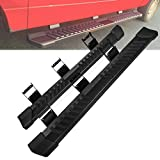 Pair Running Board Nerf Bar for 15-20 Ford F150 Superduty Crew Cab Side Steps,Width 6 Inches V Style (15-20 Ford F150)