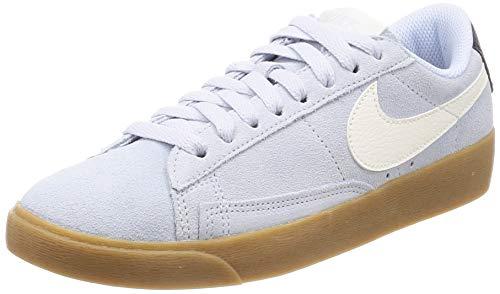 Nike Nike Blazer Low Suede Women'S Shoe - half blue/sail-oil grey-gum light b, Größe:5.5