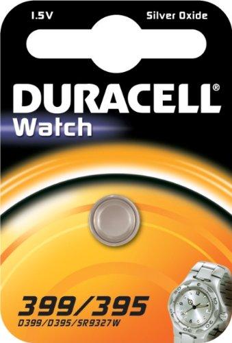 Duracell 399/395 Silberoxid 1,5V Nicht wiederaufladbare Batterie(Silberoxid, Knopf/Münze, 1,5V, 1 St, SR57, 84mAh)