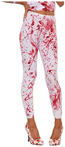 Forum Novelties Women's Blood Boutique Bloody Costume Leggings, Multi, Standard