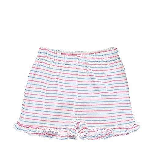 Steiff Baby-Mädchen Shorts, Weiß (Bright White 1000), 56 (Herstellergröße: 056)