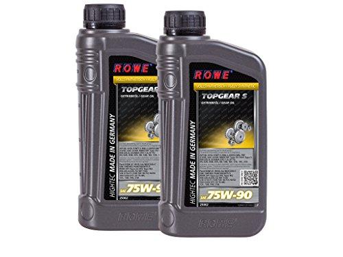 2 (2x1) Liter ROWE HIGHTEC TOPGEAR SAE 75W-90 S