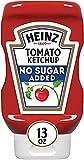 Heinz Ketchup, No Added Sugar, 13 oz