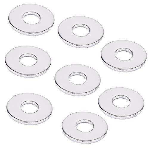VIGRUE 50 Stück große Flach Unterlegscheiben M5 DIN 9021 A2-70 Edelstahl Beilagscheiben Flat Washers