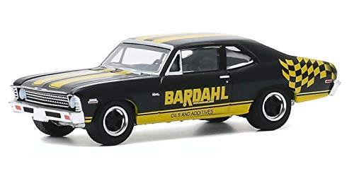 Greenlight 41110-D Running on Empty Series 11 1972 Nova - Bardahl 1:64 Scale