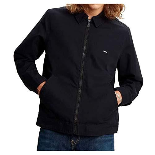 Levi's Haight Harrington Jacket Chaqueta, Negro (Mineral Black 0000), Large para Hombre