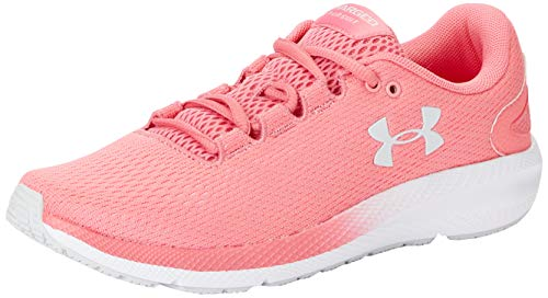 Under Armour Charged Pursuit 2, Zapatillas De Running Mujer, Rosa Limonada Blanco Halo Gris 601, 36.5 EU