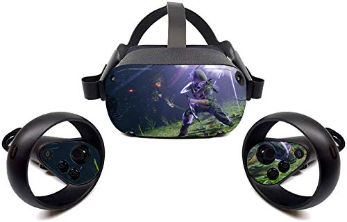 Oculus Quest Accessories Skins First-person shooter VR Headset and Controller Decal Sticker Protective Tullia
