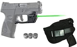 Laser Kit for Taurus PT111 / PT140 Millennium G2 / G2S / G2C w/LASERPRO Holster, Touch-Activated ArmaLaser TR23 Green Laser & 2 Extra Batteries