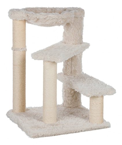 TRIXIE Pet Products Baza Senior Scratching Post, Cream