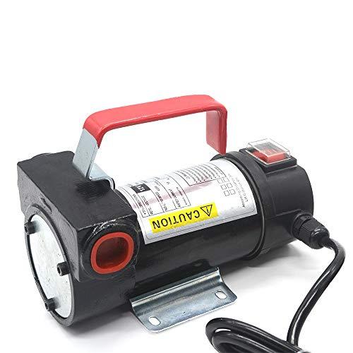 Ruilasago Bomba de Queroseno diésel de Aceite de 12 V CC 40 L/min Extractor de líquido de Transferencia eléctrica para Camiones de vehículos de Alta Resistencia