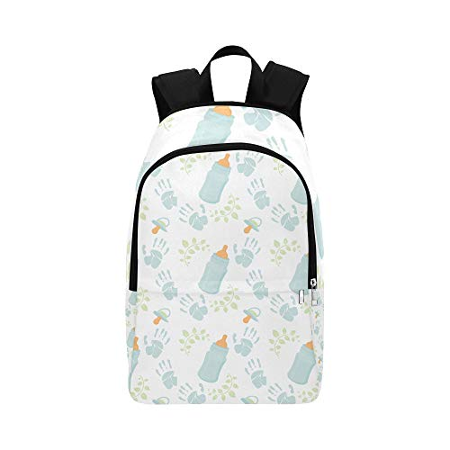 DKGFNK Cute Hiking Bag Kawaii Baby Water Milk Bottle Clean Durable Water Resistant Classic Cosemetics Travel Bag School Crossbody Bag Best College Bags Outdoor Bookbag