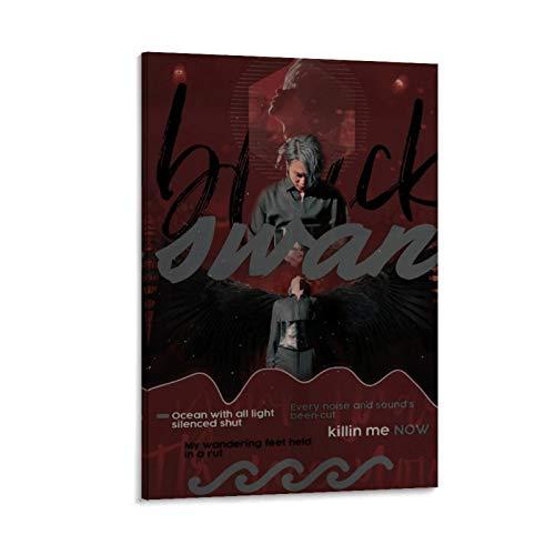 K-POP BTS JIMIN Nam-joon Kim Seok Jin Min Yoon Gi Jeon Jung Kook J-Hope Kim Tae Hyung Poster 5 Poster decorativo su tela da parete per soggiorno, camera da letto, 50 x 75 cm