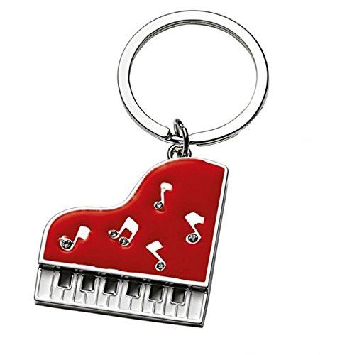 Ten Rotes Klavier Keychain cod.EL7918 cm 8x3,9x0,5h by Varotto & Co.