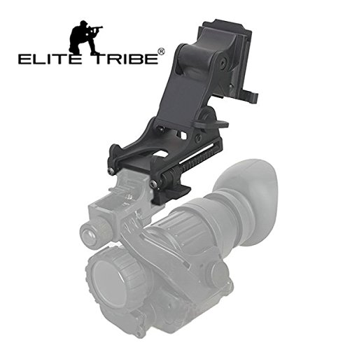 Airsoft Paintball Helmet Mount Night Vision Goggle Mount for OPS-CORE Fast Helmet NVG Mount Black