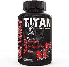 Test Launch Testosterone Booster for Men- Natural, Safe, Effective Muscle Builder with D Aspartic Acid, Tribulus Terrestris, and Testofen Fenugreek, 240 Capsules