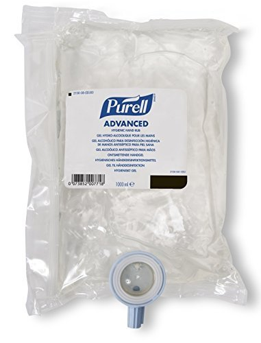 Brand New Purell - 2 Pack - Advanced Instant Hand Sanitizer Nxt Refill 1000Ml Pouch