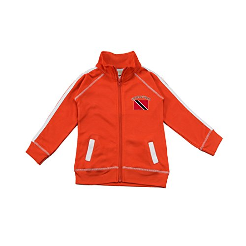 PAM GM Little Boys Trinidad & Tobago Soccer Track Jacket 3 Years Red