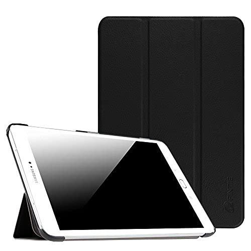 Carcasa delgada para Samsung Galaxy Tab S2 8.0, ultra ligera, función atril, función de encendido y apagado automático, para tablet Samsung Galaxy Tab S2/S2 Nook de 8 pulgadas, color negro