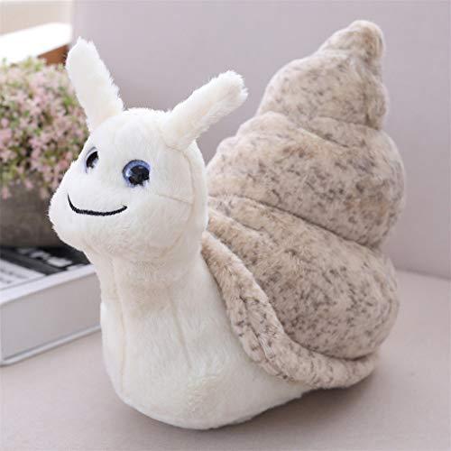 ToDIDAF Plüschtier Kawaii Schnecken Kuscheltier Spielzeug Weiche reizende Spielwaren Gutes Geschenk für Kinder für Schreibtisch Schlafzimmer Babyzimmer Deco (S:18 cm (7 Zoll))