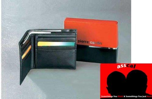 Pierre Cardin Geldbörse aus Leder und Geschenkbox