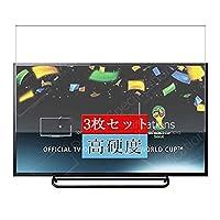 3枚 Sukix フィルム 、 31.531.5インチ ソニー Sony KDL-32R435B テレビ 向けの 液晶保護フィルム 保護フィルム シート シール(非 ガラスフィルム 強化ガラス ガラス )