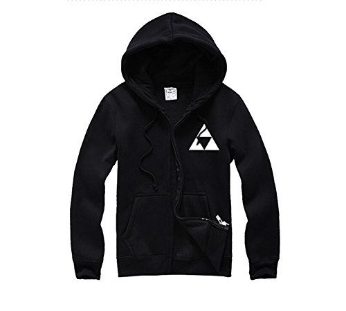 Fuman The Legend of Zelda Triforce Logo Link Hoodie Tee Kapuzenpullover Sweater Jacke XXXL