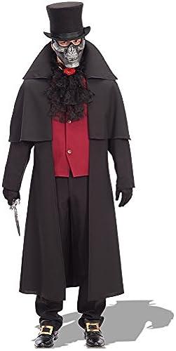 más descuento Carnival Toys - Disfraz caballero de la la la noche en bolsa, Talla única, Color negro (81060)  punto de venta de la marca