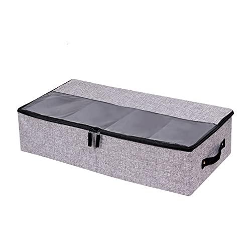 FEIGAO Cajas Almacenaje,Plegable Caja Organizadora,Cajas Almacenaje Ropa,Adecuado para Guardar Ropa,Zapatos,Juguetes,Libros,Etc.(58x30,5x14cm)
