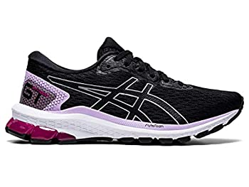 ASICS Women s GT-1000 9 Running Shoes 9 Black/Pure Silver