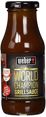 Weber World Champion BBQ Sauce (240ml Glas)