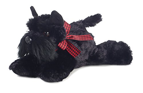 Aurora - Mini Flopsie - 8' Scotty, Black