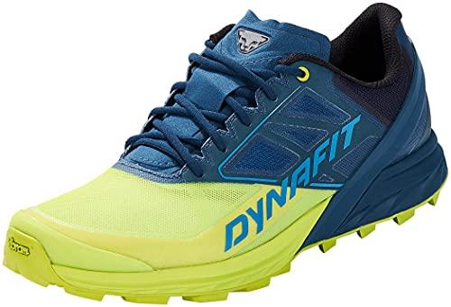 DYNAFIT Alpine, Scarpe Running Uomo, Fjord/Lime Punch, 44.5 EU