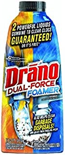 Drano Dual Force Foamer Clog Remover (17 oz. Pack of 8)